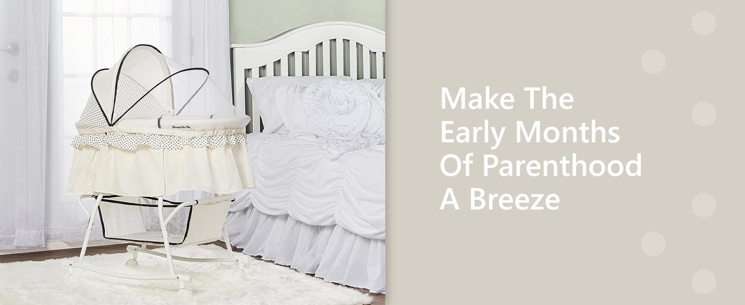 bassinet,bedside sleeper,Portable bassinet,breathable bassinet,bassinet with mesh, light bassinet