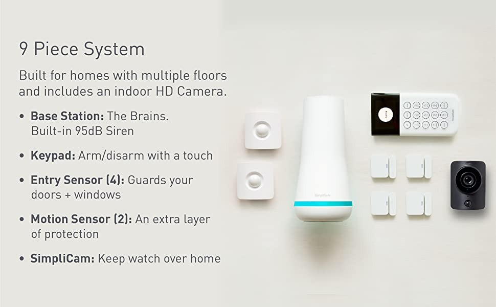 DIY, install, app, base station, sensors, protect, home, security system, easy, safety, SimpliSafe
