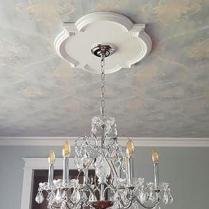 modern ceiling medallion
