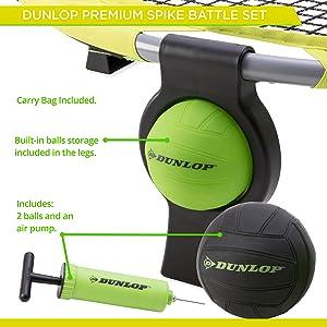 Amazon.com: Dunlop Premium fácil de montar Spike Juego de ...