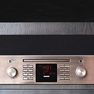 ION Audio Octave LP - Tocadiscos Retro 8 en 1 con Transmisión por ...
