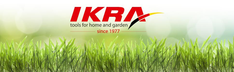 IKRA Marken Qualität - über 40 Jahre Erfahrung mit Gartengeräten