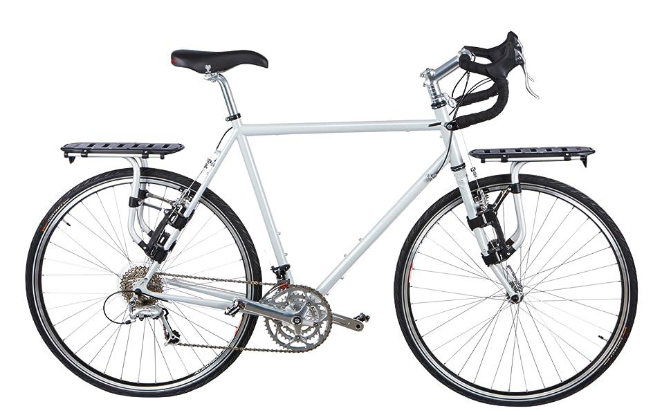 thule bike rack, thule tour rack, tour bike rack, bike pannier rack, pannier rack, thule, travel