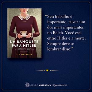 Um banquete para Hitler: A morte está servida | Amazon.com.br