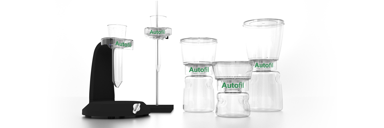 Autofil Sterile Disposable Vacuum Filter Units with 0 2um Sterilizing PES  Membrane, 250mL, 12/CS