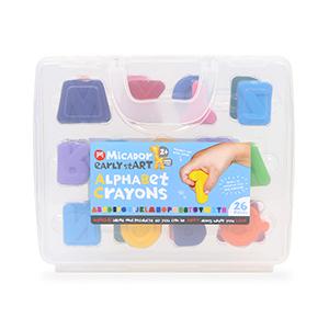 micador alphabet crayons