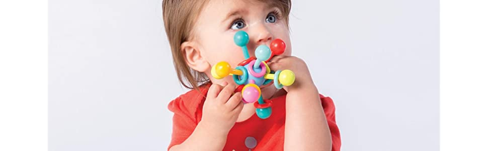 teethers;toys for 6 month old;baby ball;infant toy;rattle;teething toy;developmental toys;crib toy