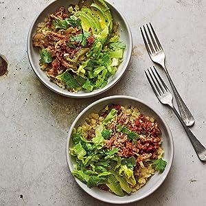 gluten-free grain-free paleo dairy-free smoky pork burrito bowl