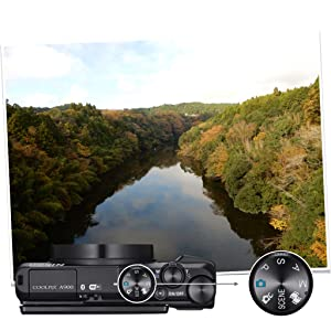 Nikon Coolpix A900 Kamera Schwarz Kamera