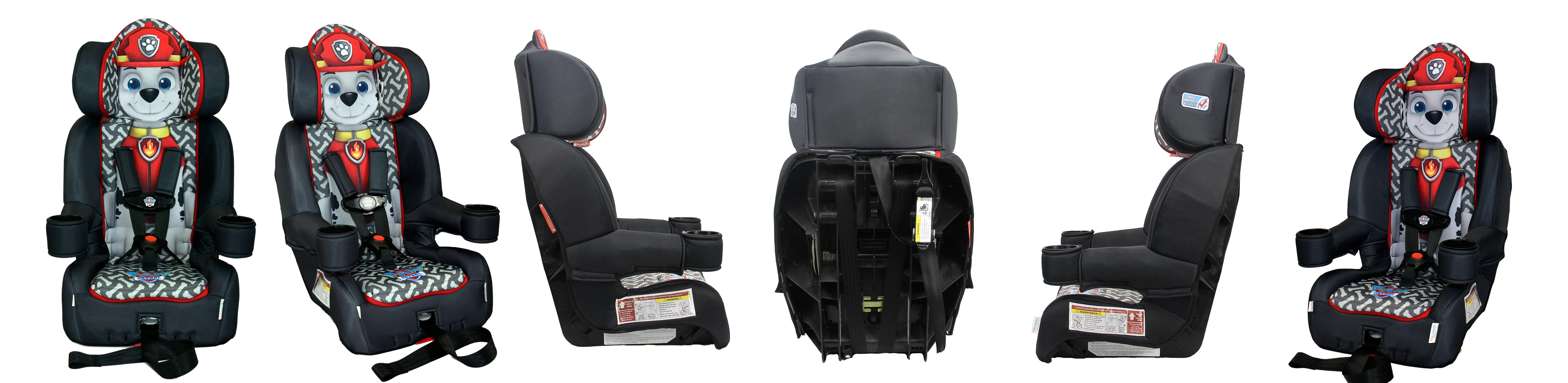 Kidsembrace paw patrol booster car seat for The federal motor vehicle safety standards are written