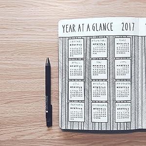 Bullet Journal, Bullet Journal Method Present Design, Bullet Journaling, Organization, Journaling