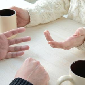 夫婦 会話 喧嘩 イメージ