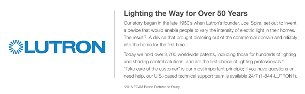 Lutron Caseta Wireless Smart Lighting Dimmer Switch 2