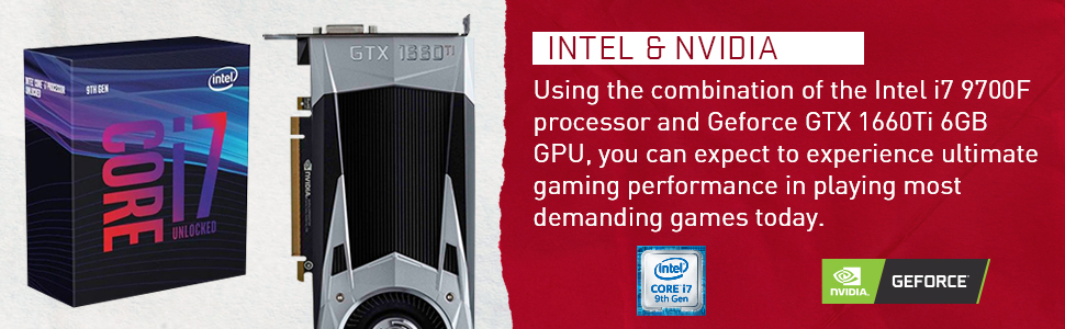 intel core 9th gen nvidia geforce gtx 1660 ti 6gb dedicated graphics card