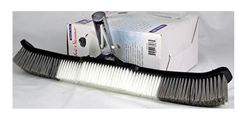 curved poolbrush;pool wall brush;aluminum brush;pool floor brush;nylon pool brush;strong pool brush