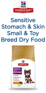 Sensitive Stomach & Skin Small & Toy Breed Dry Food