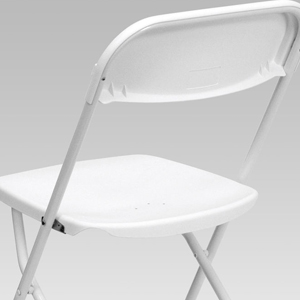 Contoured Seat and Back