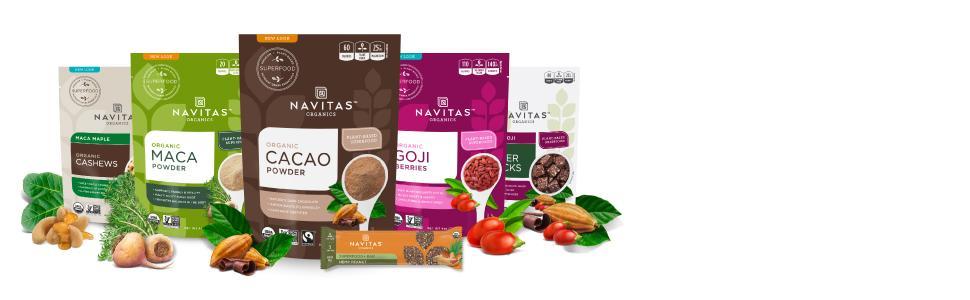 Navitas Naturals maca en polvo orgánica, bolsas de 1 ...