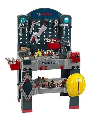 Amazoncom Bosch Jumbo Workbench Toy Toys Games