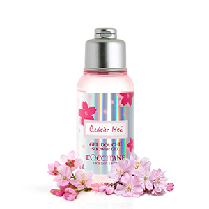 limited edition;cherry blossom;cherry shower gel;travel size;gift set