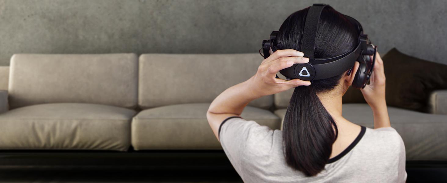VIVE Cosmos headset ergonomics