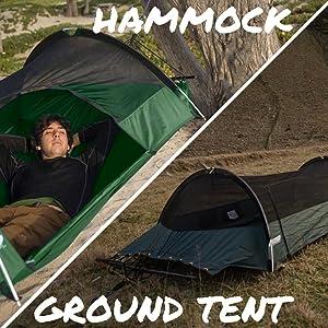 Lawson Hammock Blue Ridge Tent rainfly mosquito bug net hiking camping jungle beach forest winter
