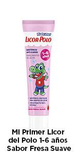 Licor del Polo - Dentífrico Junior 1-6 años - Protege y fortalece ...