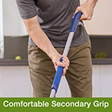 comfortable, scrubbing power, grip