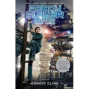 ready player one;steven spielberg;movie tie in;ernest cline;amazon book review;page to screen