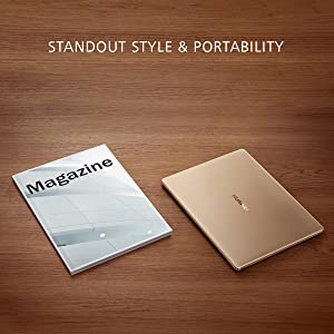 Standout Style Portability Magazin Zeitung Huawei MateBook X