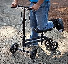 Steerable KneeRover Economy Knee Scooter