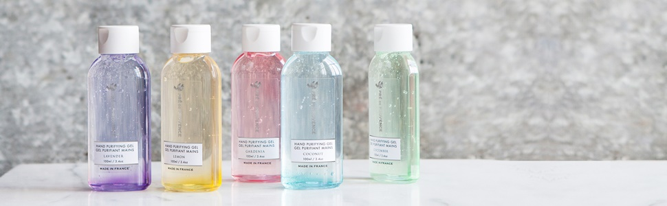 Pre de Provence Hand Purifying Gel Collection is available in 7 different scents amp; colors.