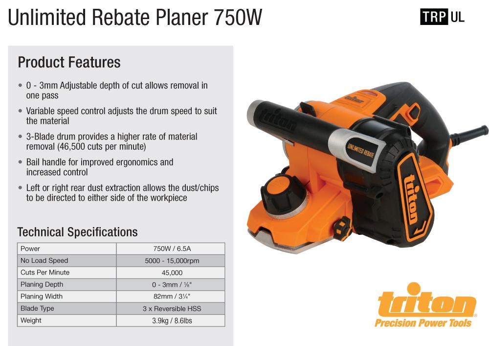 how to use a rebate planer