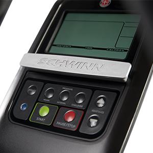 Schwinn 411 Elliptical Display Streamlined Console