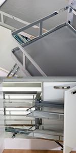 Pull-Out Kitchen Blind Corner Storage