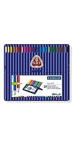 ergosoft coloured pencils