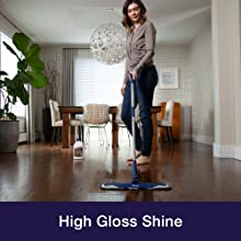 High Gloss Shine Hardwood Polish  Protect renew dull floors