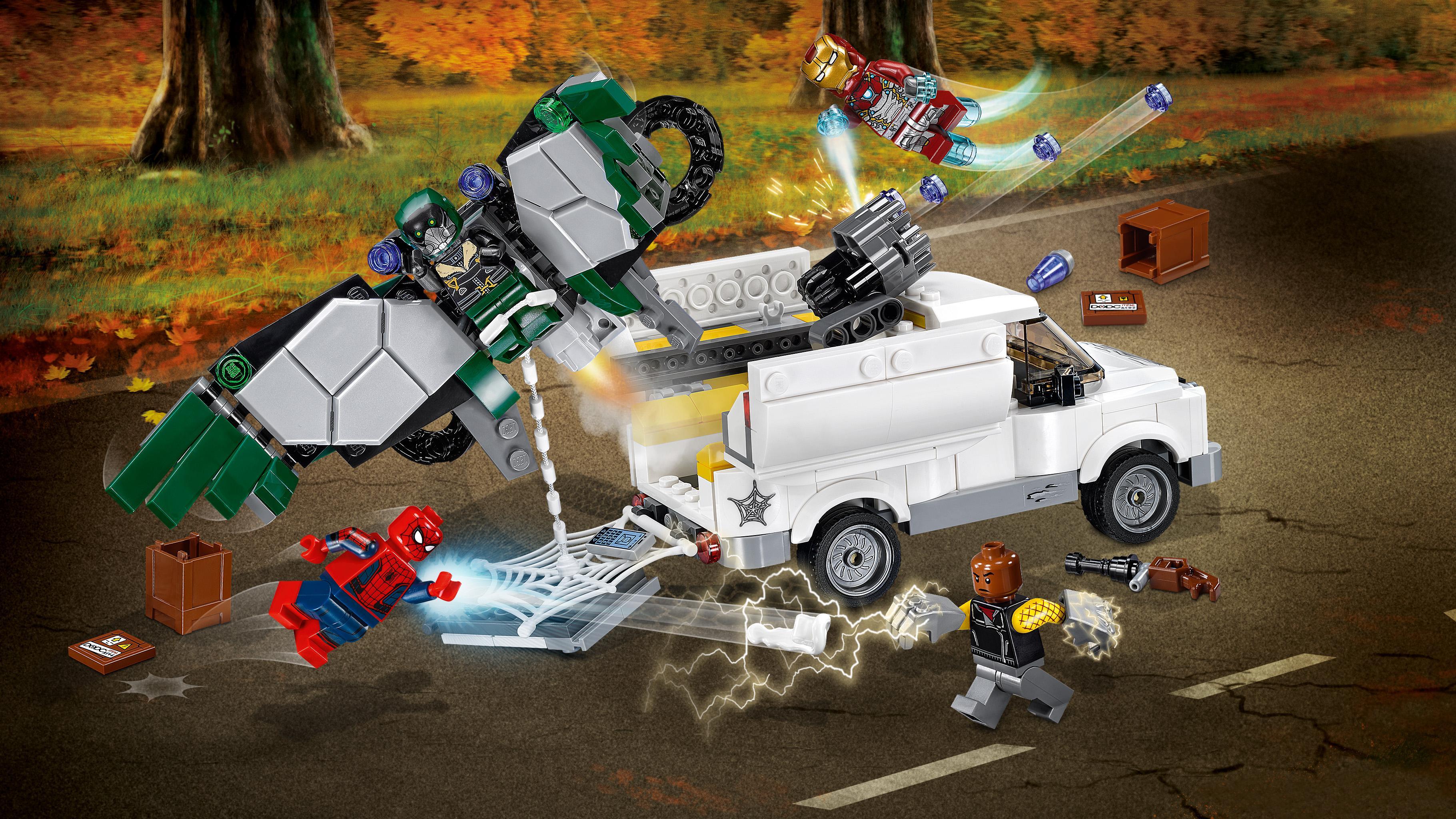 LEGO Super Heroes - Cuidado con Vulture, Juguete de