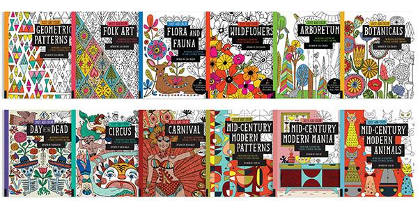 Just Add Color: Mid-Century Modern Patterns: 30 Original ...