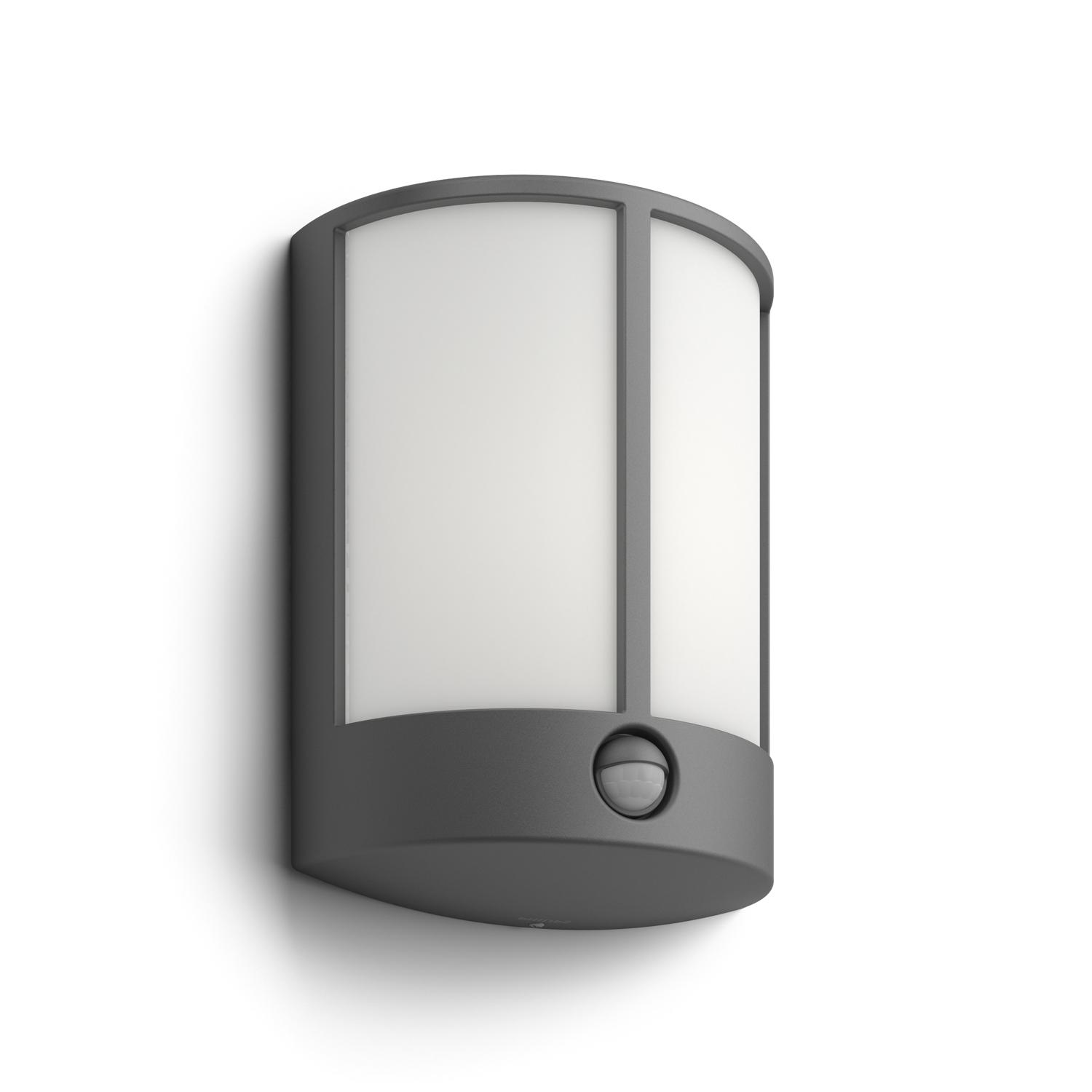 Outside Lights Wickes: Philips MyGarden Stock LED Outdoor Wall Light With Motion
