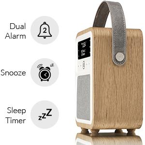 VQ Monty DAB+ Digital & AM/FM Radio with Bluetooth