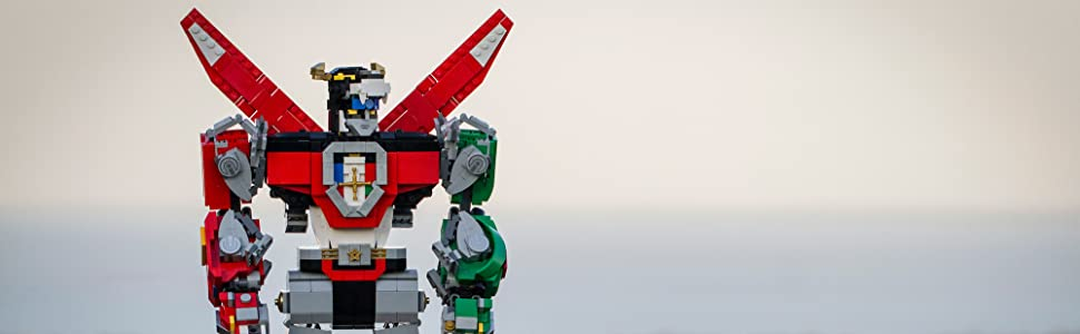 Lego ideas voltron lego amazon giochi e giocattoli