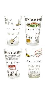 joey;rachel;phoebe;monica;chandler;ross;travel mug