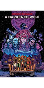 dungeons and dragons d&d darkened wish trade paperback graphic novel idw collection cover