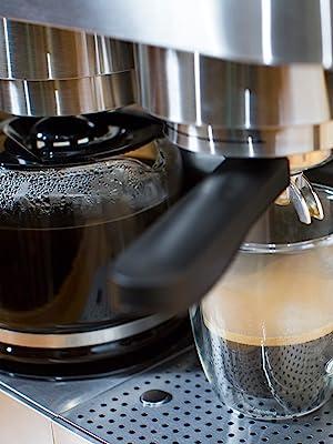 Brew coffee and espresso in one convenient unit