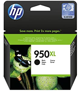 HP 950XL High Yield Black Original Ink Cartridge CN045AE