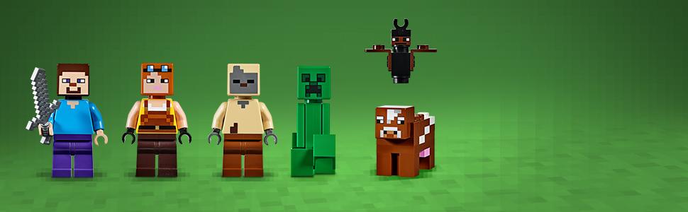 LEGO Minecraft - La Mina de Creeper, Juguete de