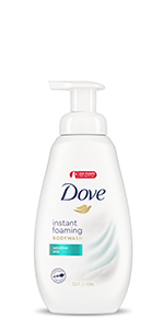 Dove Shower Foam Sensitive Skin Foaming Body Wash