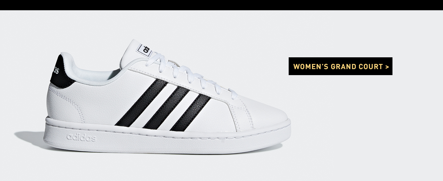 Amazon.com | adidas Women's Grand Court Sneaker | Shoes