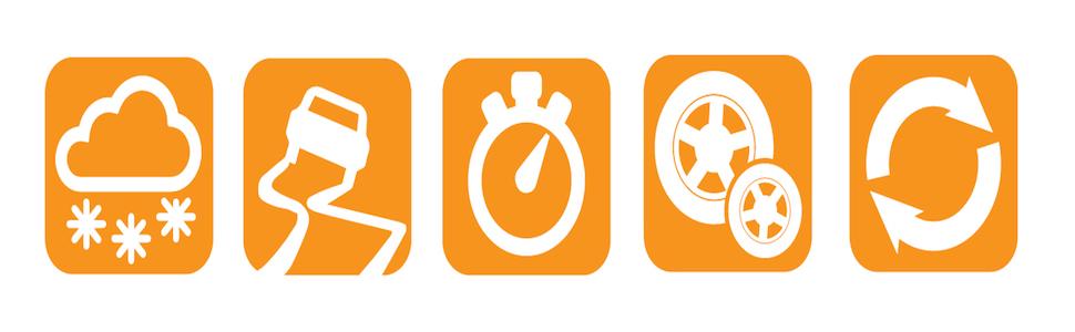 Garantie de satisfaction à 100% réel classé style le plus récent BEEPER SR1 Colliers chaînes d'urgence pour Neige & Boue, Orange